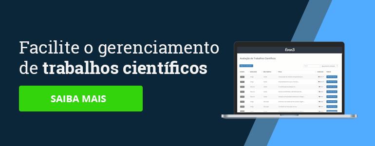 Plataforma de credenciamento para eventos acadêmicos e científicos Even3